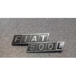 FREGIO POSTERIORE FIAT 500...
